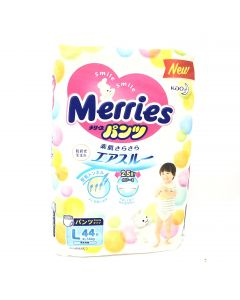 Merries Diapers Size L 44pcs
