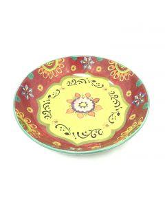 Serving Bowl-Multicolor design13.25X3inch