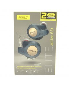 Jabra Elite Active 65t True Wireless Earbuds (Copper Blue)