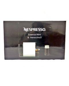 Nespresso Essenza Mini & Aeroccino 3 Red
