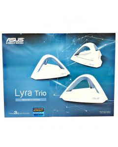 ASUS Lyra Trio Whole Home WiFi Mesh System AC1750, Dual-Band, WiFi Router/WiFi Range Extender for Mesh Network, Parental Control (3 Pack)