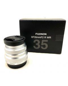 FUJINON XF35MM F2 R WR LENS-SILVER