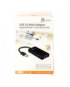 j5create USB 3.0 Multi Adapter Gigabit Ethernet