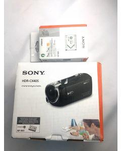 Sony Singapore HDR-CX405/ CX405 Handycam with Exmor R CMOS sensor