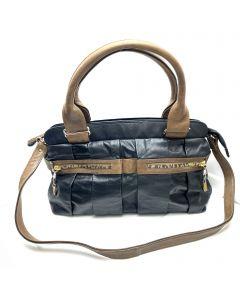 CHLOE TOTE BAG W/SLING BLACK/BROWN