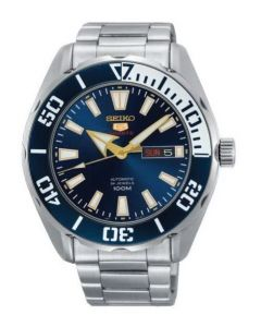 seiko 5 Sports Automatic Blue Dial Men's Watch SRPC51J1