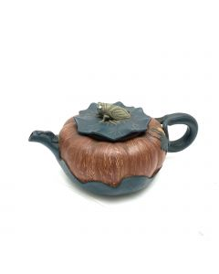 TEA POT-LID/INSECT COVER/GREEN/BROWN