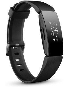 Fitbit Black Inspire HR Fitness Tracker with Heart Rate Tracking
