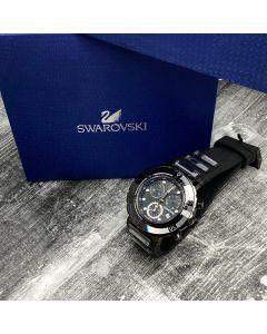 SWAROVSKI CHRONOGRAPH WATCH W/ BOX AND MANUAL