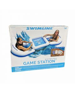 SWIMLINE GAME STATION SET W/WATERPROOF CARDS