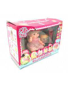 Mell-chan Meal Time Set, Pink