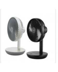 "AEROGAZ 6"" TABLE FAN-/RECHARGEABLE/BOX/NEW/SUP"