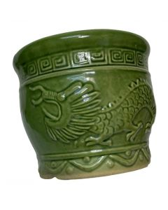PORCELAIN DRAGON DESIGN FLOWER POT