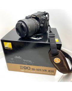 NIKON D90 18-105 VR KIT DSLR CAMERA