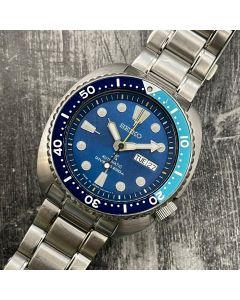 SEIKO 4R36-06A0 MEN'S WATCH /AUTO/BLUE DIAL/DD/BRAC