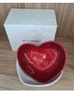 BOWL-HEART SHAPE/SET OF 2