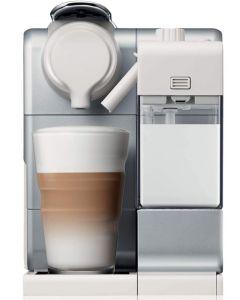 Nespresso F521-HK-SI-NE Lattissima Touch Coffee Machine, Silver