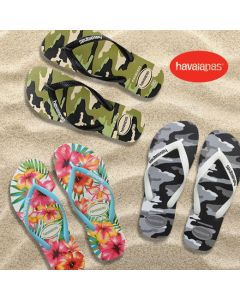 Havaianas Unisex Flip Flop Sandal(Colour: Beige Black/Steel Grey/Hibiscus White)