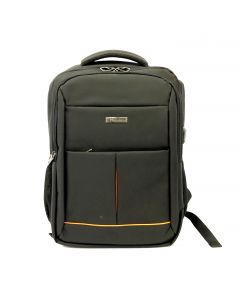Anti-theft Travel Backpack Fit 15'' Laptop Black with USB port