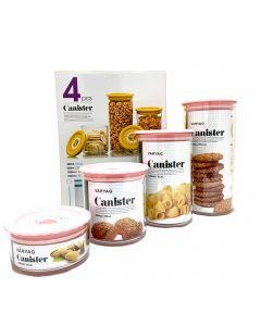Canister Set 4pcs