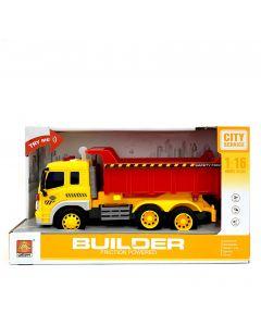 TOY BUILDER TRUCK/CITY SERVICE