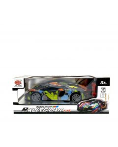 REMOTE TOY RACING CAR/GRAFFITI A