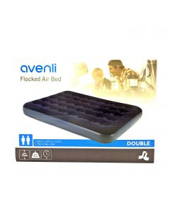 avenli Flocked Air Bed 191X137X22cm