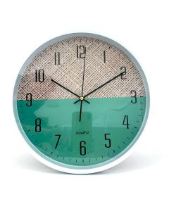 WALL CLOCK/ASST COL