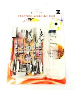 10-piece Jelly Art Tools