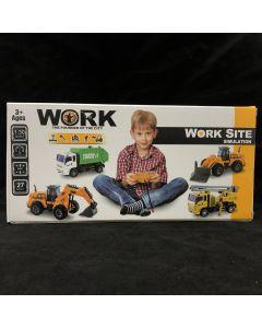 Work Trucks Remote Control Excavator