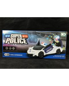 Super Police Electronic Car
