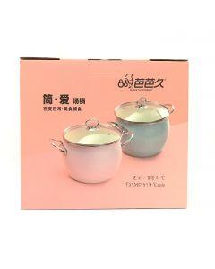 Babajiu Enamel Soup Pot