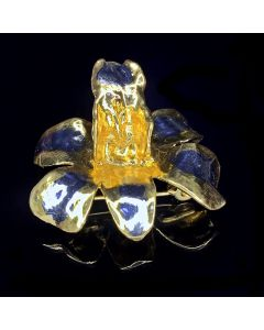 RISIS ORCHID BROOCH