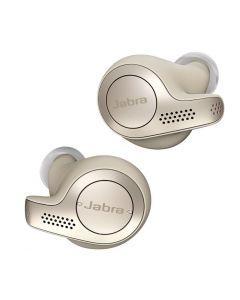 Jabra Elite 65t Wireless Noise Cancelling Earphones, Gold Beige 3.00 x 2.30 x 2.70 cm