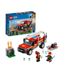 BUILDING TOY-CITY FIRE CHIEF RESPONSE