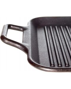 Lodge 12-Inch Ribbed Square Cast Iron Grill Pan (BRAND NEW)