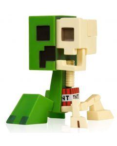 "JINX Minecraft Creeper Anatomy Deluxe Vinyl Figure,MultiColor,8"" Tall"