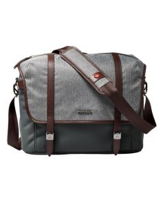CAMERA MESSENGER BAG-GREY