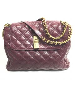 MARC JACOBS LADIES PURPLE SHOULDER BAG