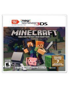 GAME CARTRIDGE-3DS/MINECRAFT