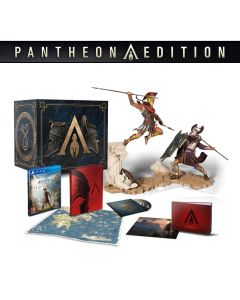 PS4 Assassin's Creed Odyssey Pantheon Edition Figure & Game Discs