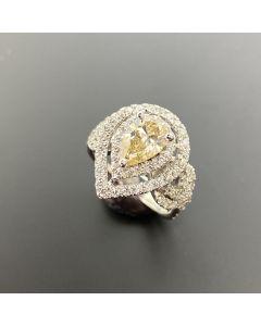 PEAR SHAPE LADY'S DIAMOND