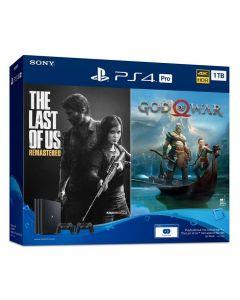 PS4 Pro Unit Bundle Console 1TB The Last Of Us & God Of War