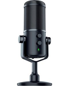 Razer Seiren Elite: Single Dynamic Capsule - Built-In High-Pass Filter - Digital/Analog Limiter - Professional Grade Streaming Microphone