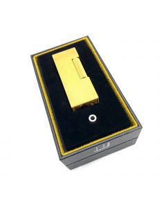 Dunhill Rollagas Lighter - Gold plated Barley with Free Engraving (rls1450) BRAND NEW
