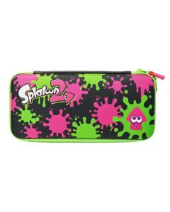 Splatoon2 Hard Pouch for Nintendo Switch, Ink X Squid