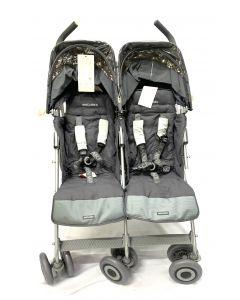 Maclaren Twin Techno Stroller Silver Grey