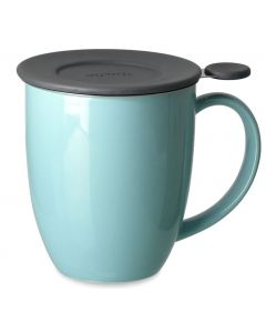 Forlife FL/580-TRQ Uni Brew-in-Mug with Infuser and Lid, 473 ml, Turquoise