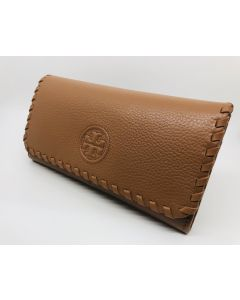 WALLET-LADY/RECT/LEATHER/BRN