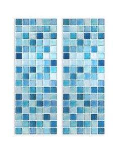 BEAUSTILE Decorative Tile Stickers Peel Stick Backsplash Fire Retardant Tile Sheet (Monocrome)